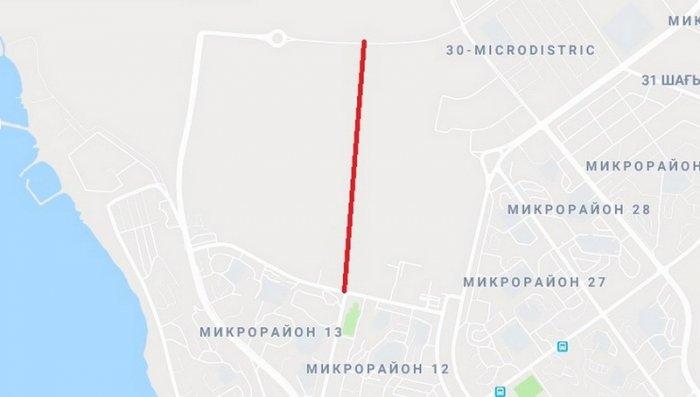 Акимат Актау: Новую дорогу откроют 1 июня