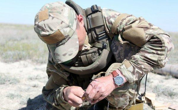 На полигонах РК «Запад» обнаружены неразорвавшиеся снаряды