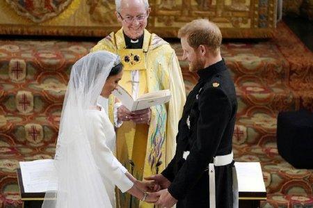 Принц Гарри и Меган Маркл стали мужем и женой