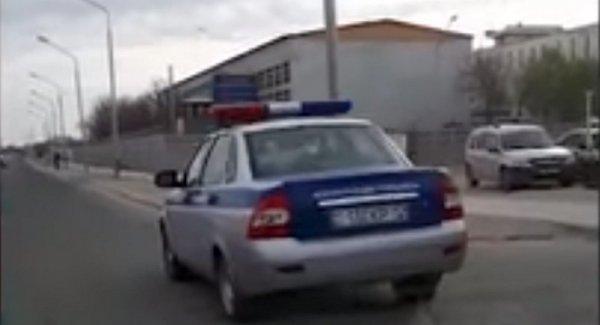 Нарушение ПДД патрульными автомобилями прокомментировали в ДВД Мангистау