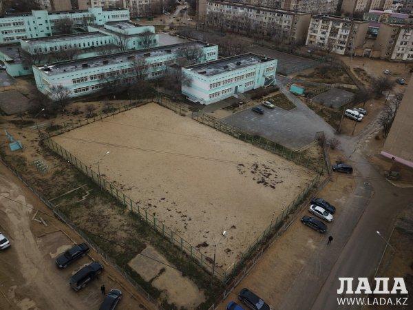 Футбольное поле по стандартам FIFA обещали построить в Актау