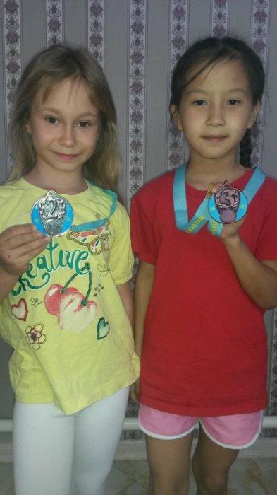Юные спортсменки из Актау завоевали пять медалей на республиканском турнире в Туркестане