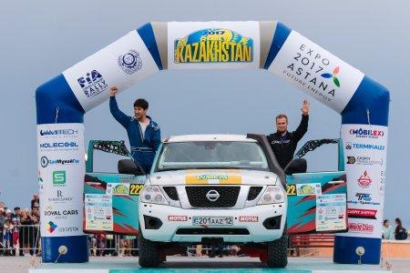 Экипаж из Актау примет участие в этапе Кубке мира по ралли-рейдам RALLY KAZAKHSTAN-2018