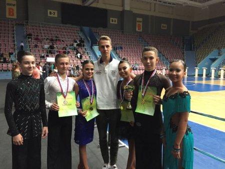 Танцоры из Актау стали победителями международного турнира по бальным танцам