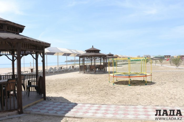 Пляжи Актау