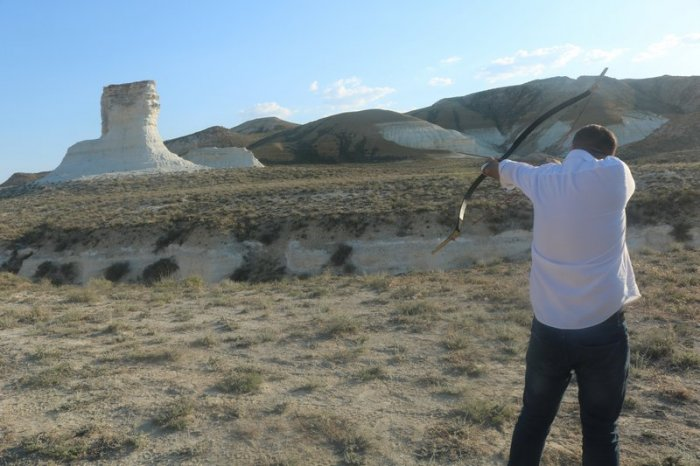 Блогеры из России и Азербайджана: Главная фишка Мангистау -  юрты и верблюды