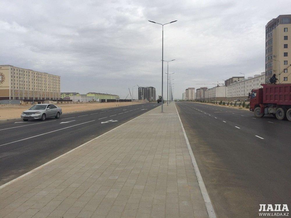Участок новой дороги открыли в Актау
