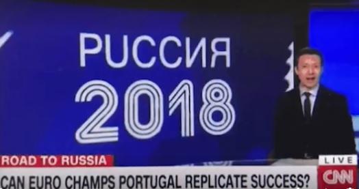 CNN попытался правильно написать слово «Россия» и не смог
