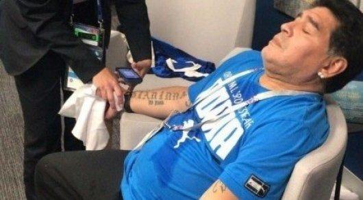 Водитель скорой помощи раскрыл диагноз Марадоны