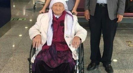 90-летнюю этническую казашку задержали в Китае