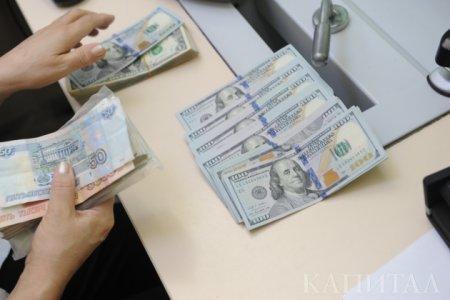 Доллар перешагнул отметку 332 тенге