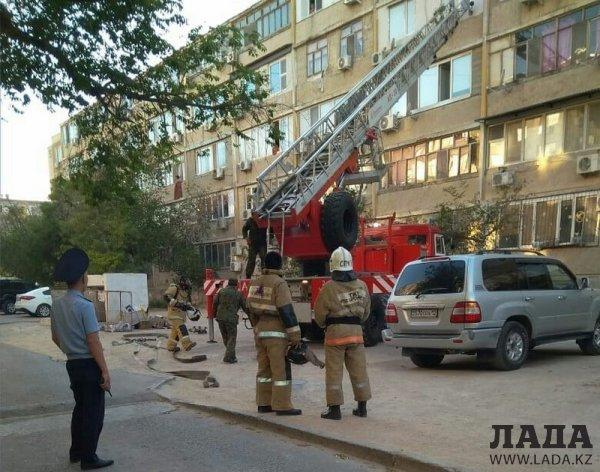 Жители 6 микрорайона Актау приняли дым при дезинсекции за возгорание и вызвали пожарных