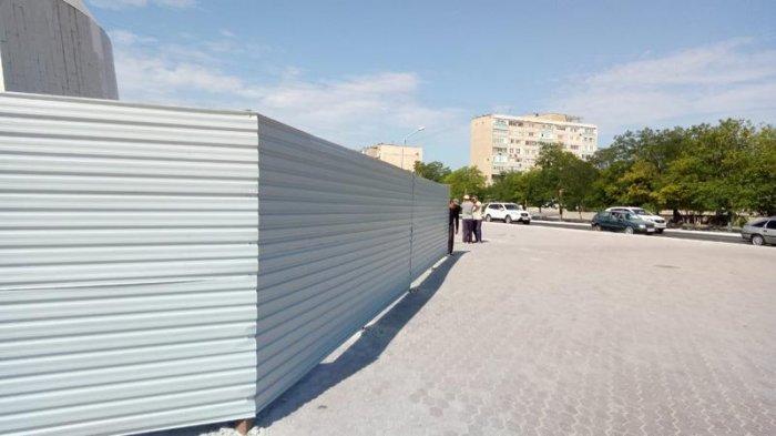 В Актау определили подрядчика по ремонту монумента «Вечный огонь»