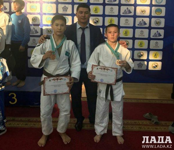 Дзюдоисты из Мангистау стали призерами первенства Казахстана