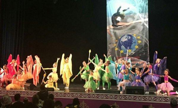 Ансамбль танца «Улыбка» из Актау завоевал гран-при международного фестиваля