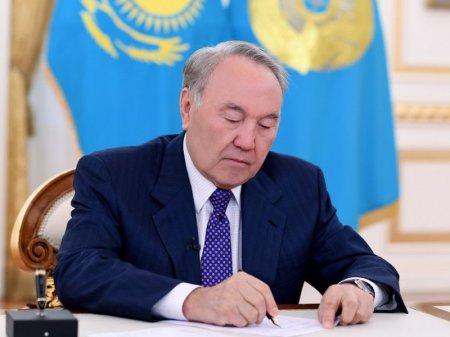 Нурсултан Назарбаев подписал указ об образовании Туркестанской области