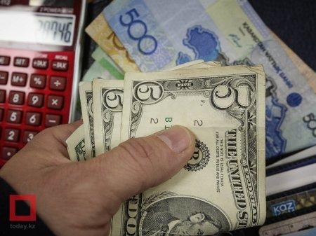 Курс доллара составил 341 тенге