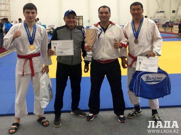 Мансур Мимбулатов из Актау победил в республиканских соревнованиях по рукопашному бою