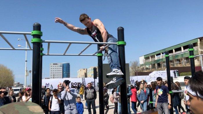 Житель Актау выиграл спортивную площадку для города