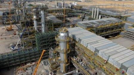 Выброс газов произошел на Тенгизском месторождении