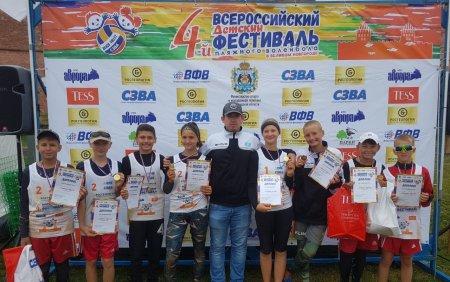 Cпортсмены из Актау завоевали два «золота» на Всероссийском детском фестивале пляжного волейбола