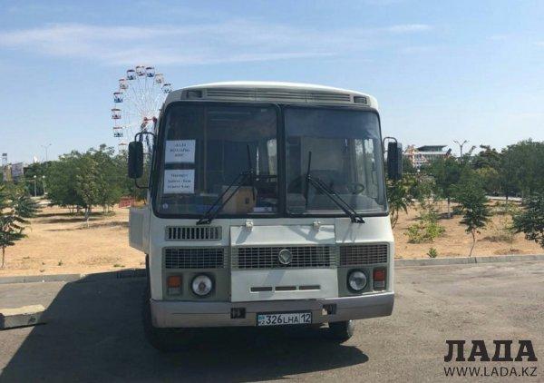 Еще один автобус до баз отдыха запустили в Актау