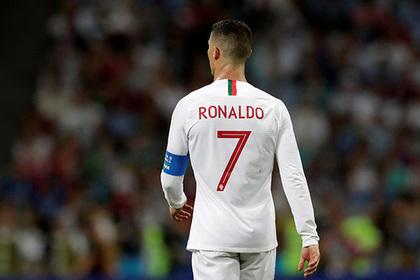 Роналду оставил тысячи евро чаевых