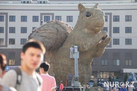 На установку белки в Алматы потратили 23 млн тенге
