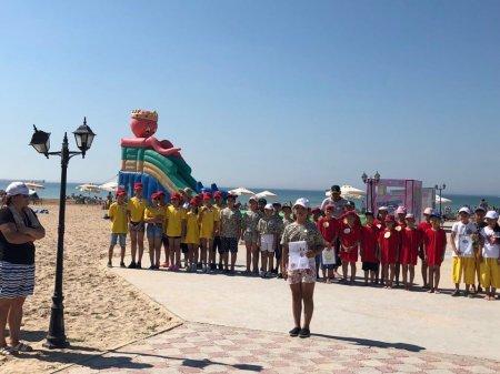 Команда «Ақ желкен» победила в состязаниях «Безопасное детство» в Актау