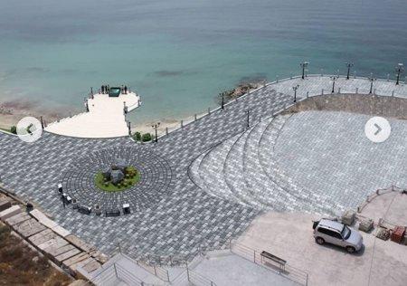 Проект прогулочной зоны «Скальной тропы» представили в Актау