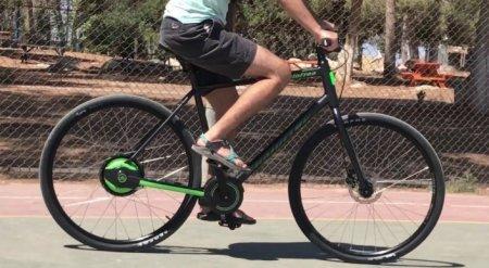 Изобретен велосипед без цепи. Вот как он работает