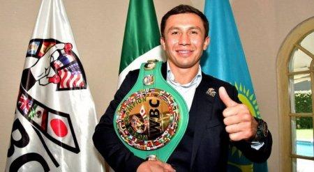 Головкина признали лучшим чемпионом WBC в истории