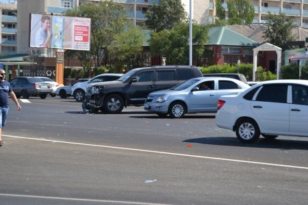 В Актау в дорожно-транспортном происшествии пострадала женщина