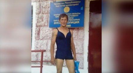 Рецидивист украл женский купальник и разгуливал в нем по Семею