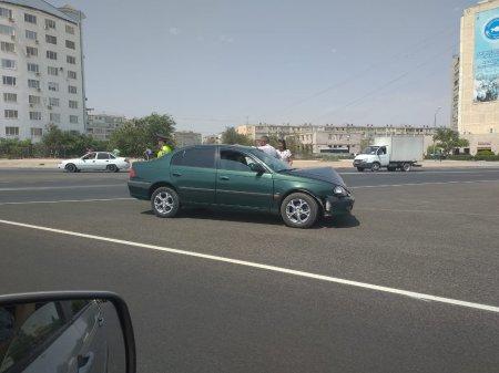 Авария на перекрестке в 11 микрорайоне