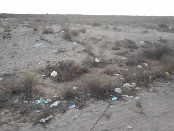 Вместо прекрасного пейзажа - кучи мусора