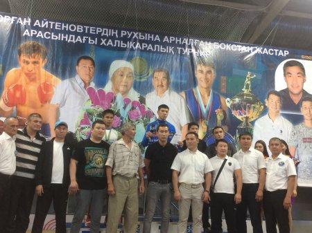 Акжол Абдихан из Актау завоевал золотую медаль на международном турнире по боксу