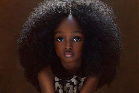 """""""Самая красивая в мире девочка"""" оказалась в Нигерии"""