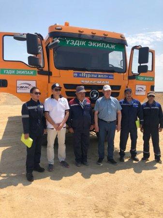 Реконструкцию дороги Бейнеу - Акжигит - граница Узбекистана планируют завершить в 2019 году