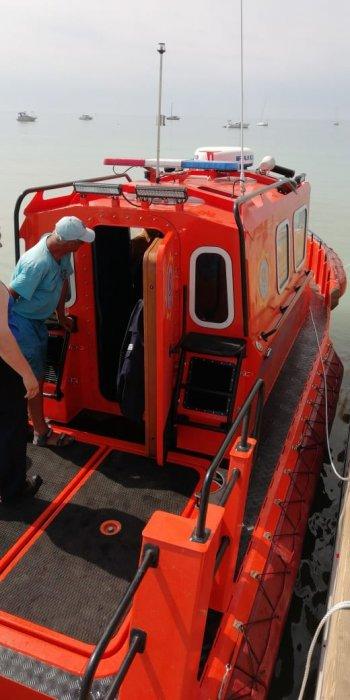 Спасатели Актау получили новый катер