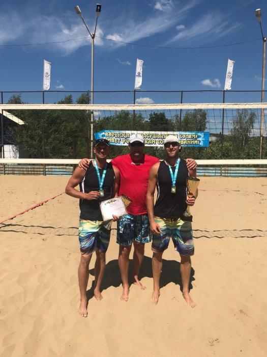 Актауские спортсмены завоевали четыре медали в III туре чемпионата Казахстана по пляжному волейболу