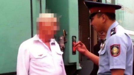 Задержание пьяного проводника: вел себя агрессивно и оскорблял пассажиров