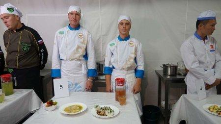 Армейские повара из РК заняли III место на этапе конкурса в рамках АрМИ-2018