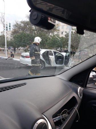 В дорожной аварии в Актау пострадали пять человек