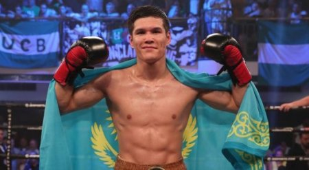 Данияр Елеусинов получил рассечение и выиграл третий бой в профи