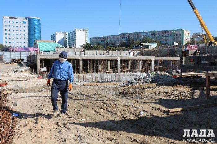 Отдел архитектуры Актау: Cтройка на набережной 7 микрорайона законна