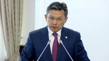 Министр финансов о ситуации с тенге: Мы пока выдерживаем