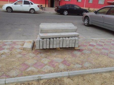 Начали и бросили строительство площадки