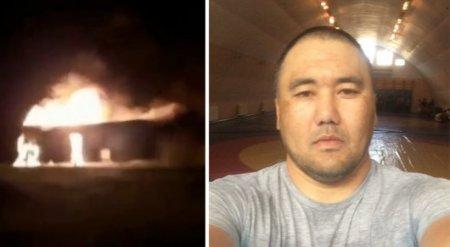 Казахстанец спас полсотни человек из горящего автобуса в России