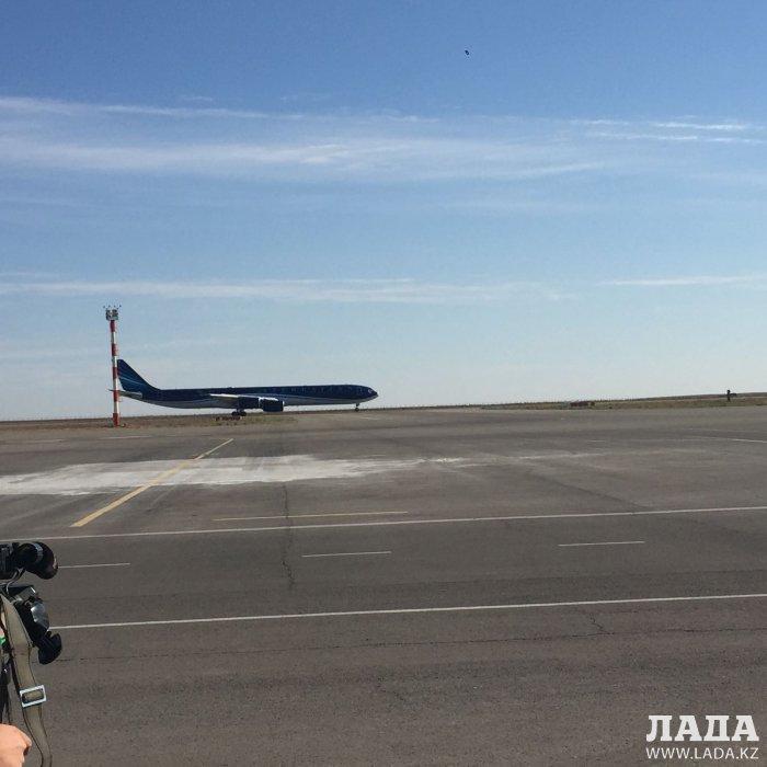 Президенты Азербайджана и Ирана прибыли в Мангистау